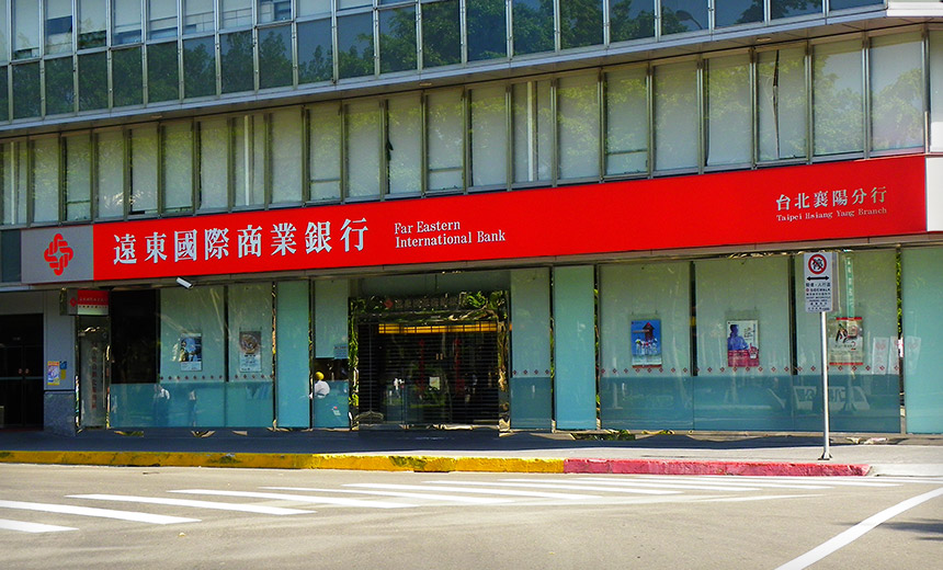 Report: Malware-Wielding Hackers Hit Taiwanese Bank