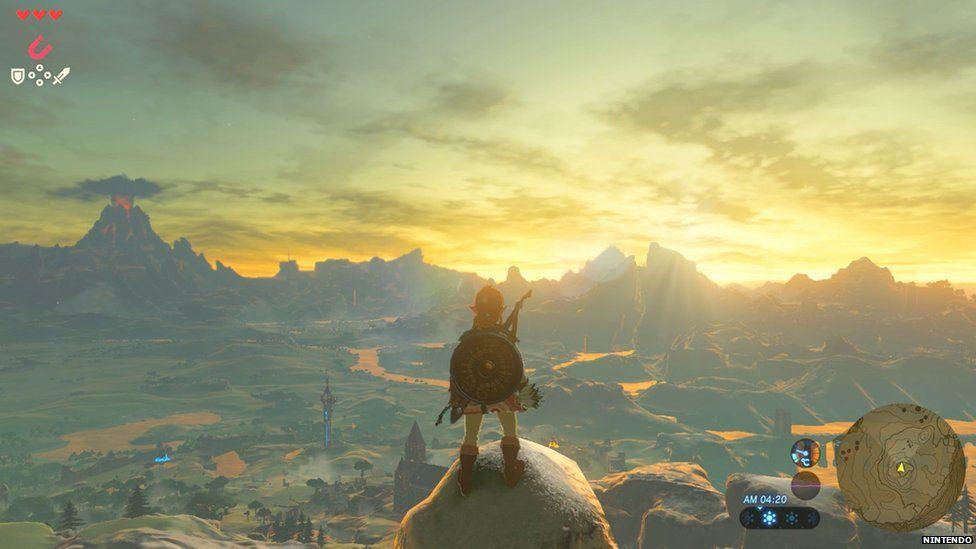 Legend of Zelda gameplay
