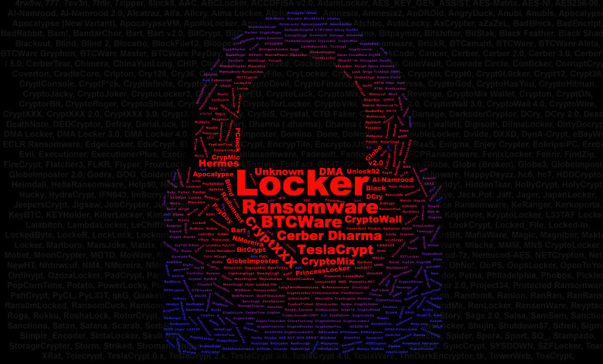 Ransomware Outlook: 542 Crypto-Lockers and Counting