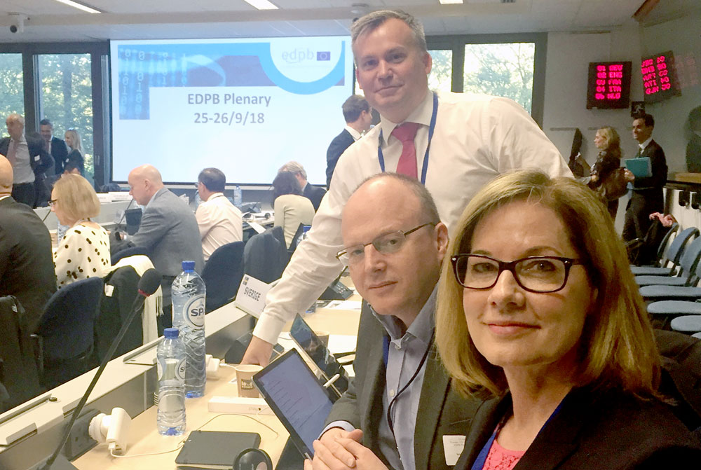 ICO discusses GDPR Strategy at the third European Data Protection Board Plenary meeting